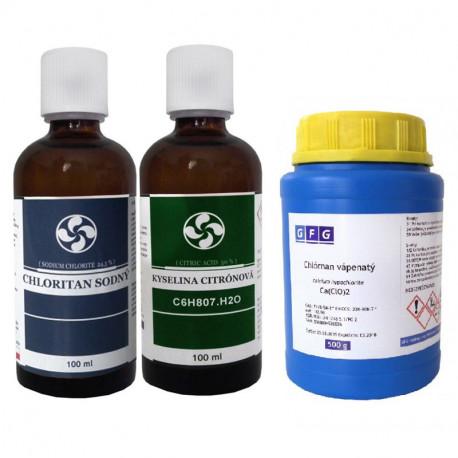 Nátrium klorit + Kálcium hipoklorit